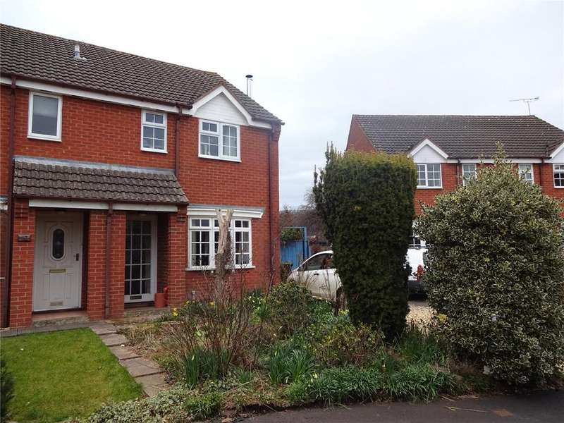 3 Bedrooms Semi Detached House for sale in Brooklands Park, Craven Arms, Shropshire