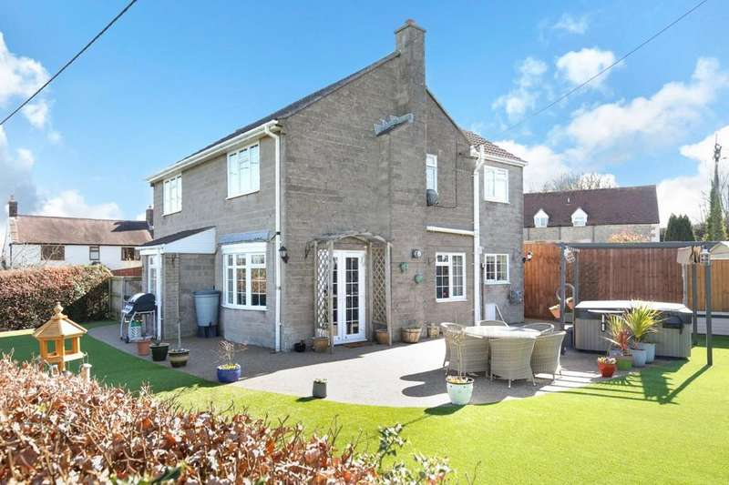 4 Bedrooms Detached House for sale in Lane End, Corsley