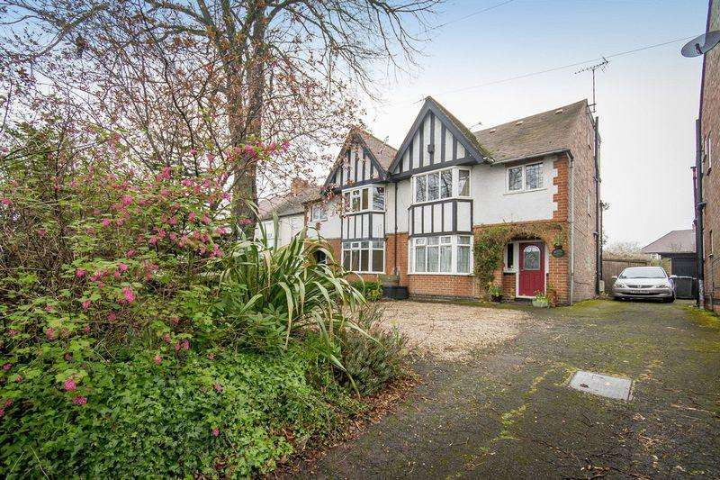 4 Bedrooms Semi Detached House for sale in CHADDESDEN LANE, CHADDESDEN