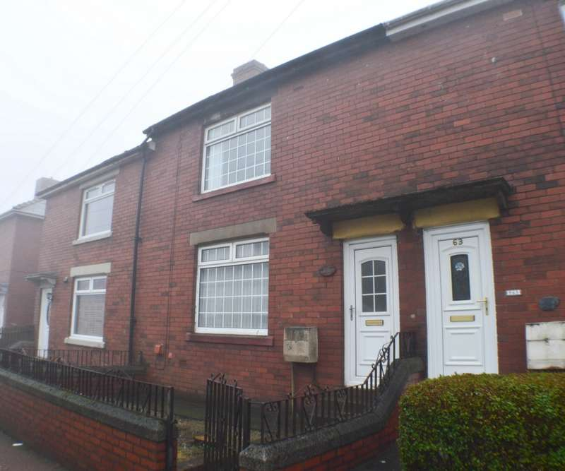 2 Bedrooms Terraced House for sale in Front Street, Leadgate, DH8