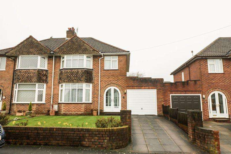 3 Bedrooms Semi Detached House for sale in Fairway, Walsall