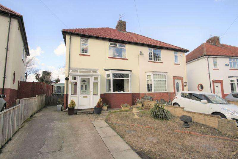 3 Bedrooms Semi Detached House for sale in Askrigg Road, Grangefield, Stockton -On-Tees, TS19 4JH