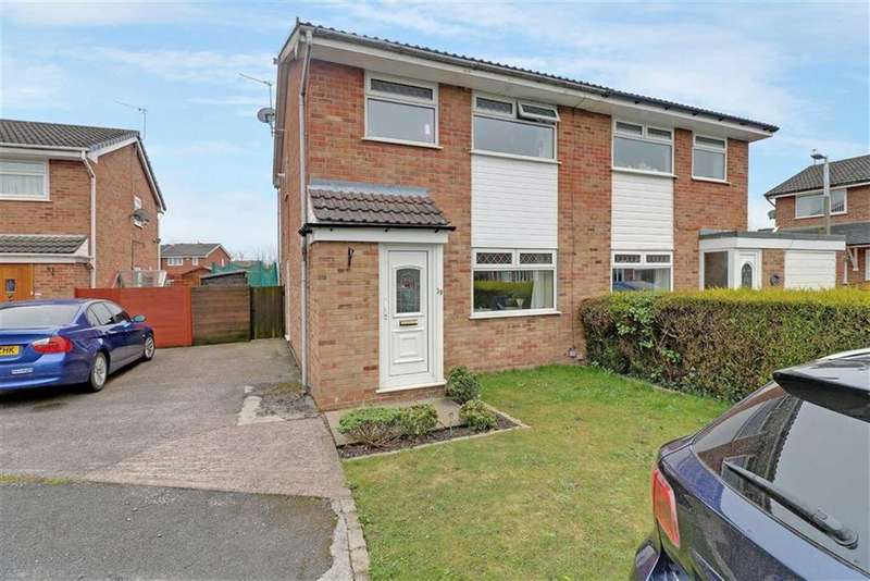 3 Bedrooms Semi Detached House for sale in Plantagenet Close, Winsford, Cheshire