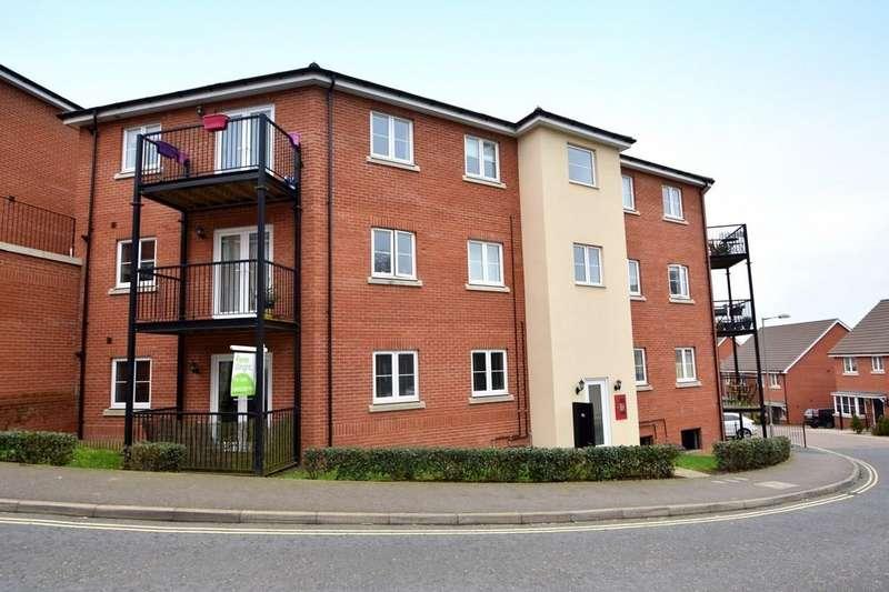 2 Bedrooms Ground Flat for sale in Meridian Rise, Ipswich, IP4 2GF