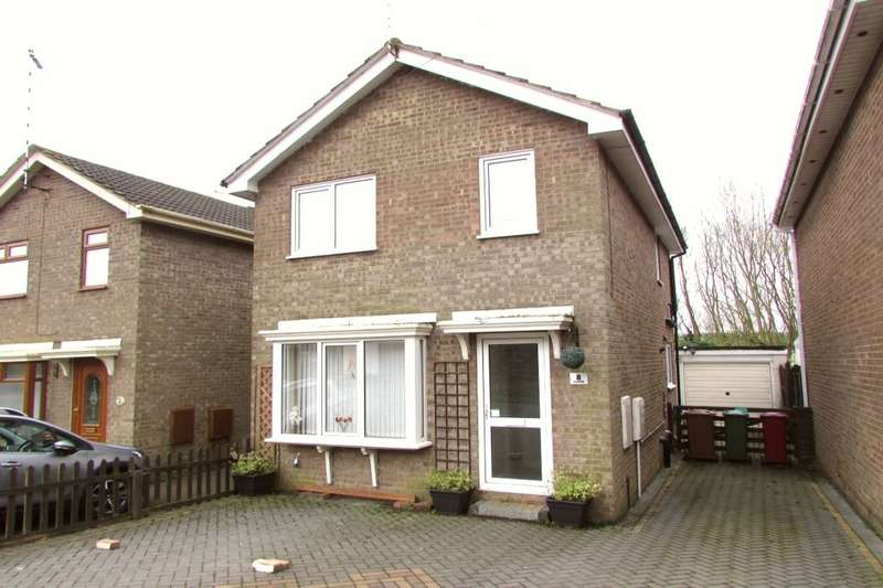 2 Bedrooms Detached House for sale in Baldwin Avenue, Scunthorpe, DN16