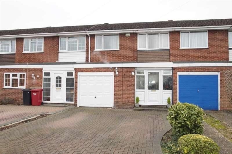 3 Bedrooms Terraced House for sale in Mercian Way, Cippenham, Slough