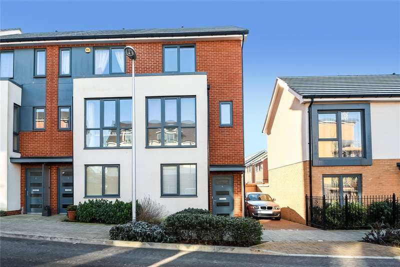 3 Bedrooms Town House for sale in Midgham Way, Reading, Berkshire, RG2