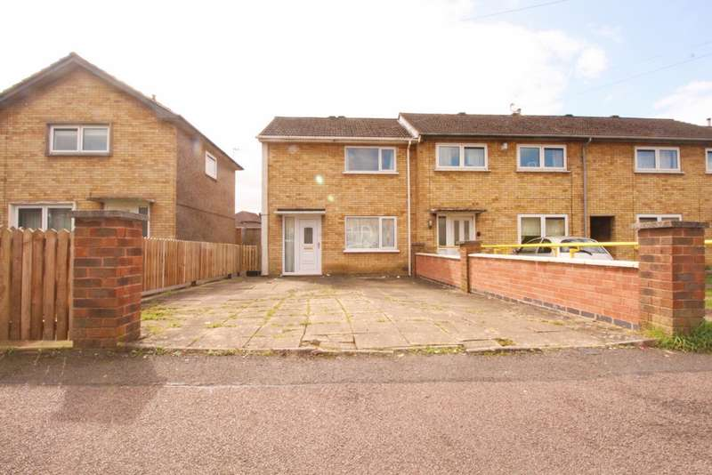 2 Bedrooms End Of Terrace House for sale in Briar Road, Scraptoft, LE5