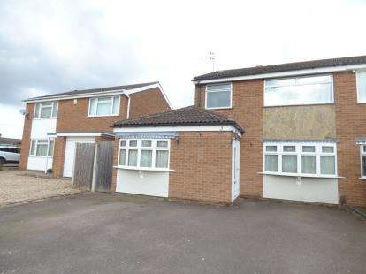 3 Bedrooms Semi Detached House for sale in Bideford Close, Wigston, Leicestershire