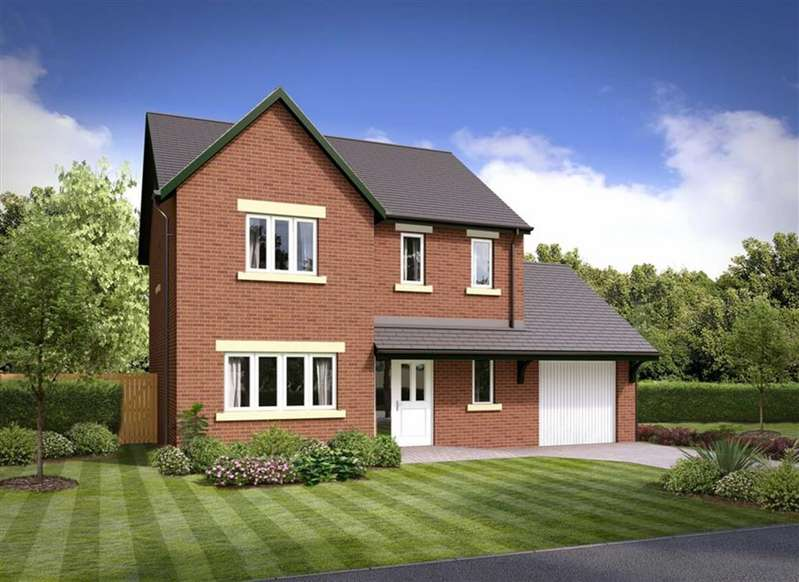 4 Bedrooms Detached House for sale in The Borrowdale - Plot 31, Barrow-in-Furness, Cumbria