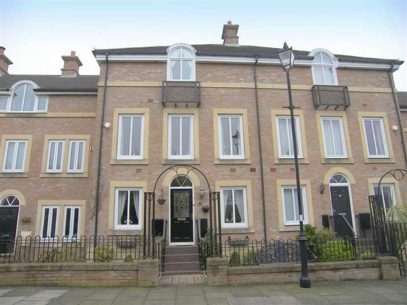 4 Bedrooms Terraced House for sale in Dockwray Square, North Shields, NE30