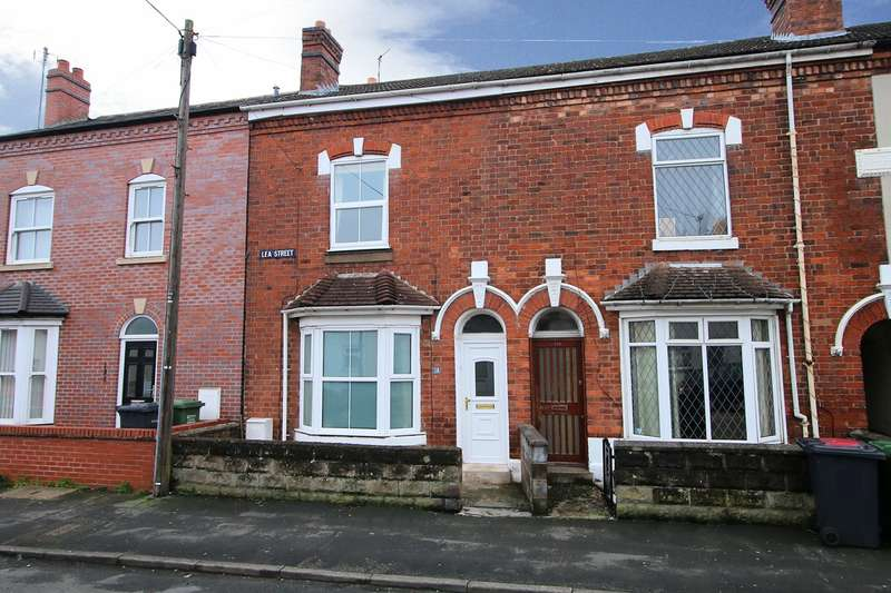 2 Bedrooms End Of Terrace House for sale in Lea Street, Kidderminster, DY10