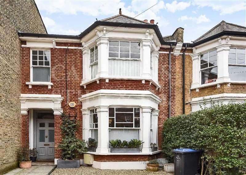 4 Bedrooms Semi Detached House for sale in Dunmore Road, Queens Park, London, NW6
