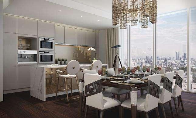 3 Bedrooms Flat for sale in Aykon London One, Bondway, London, SW8 1SF
