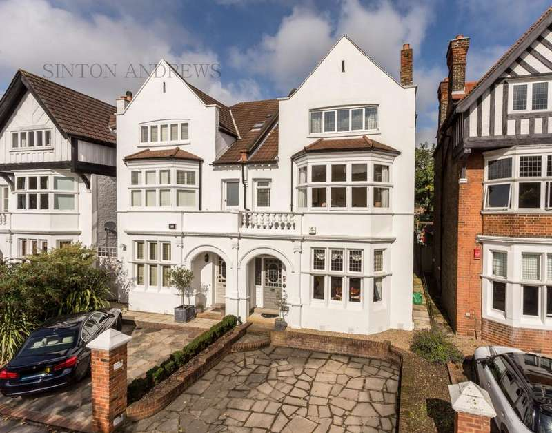 5 Bedrooms Semi Detached House for sale in Amherst Road, Ealing, W13