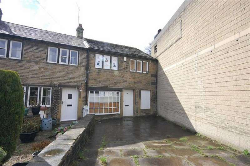 1 Bedroom Terraced House for sale in Holmfirth Road, Meltham, Holmfirth, HD9
