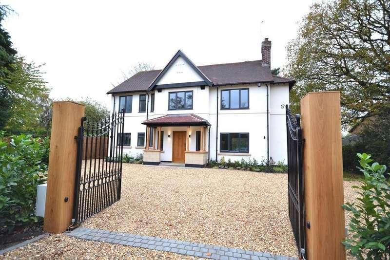 4 Bedrooms Detached House for sale in Chorley Hall Lane, Alderley Edge