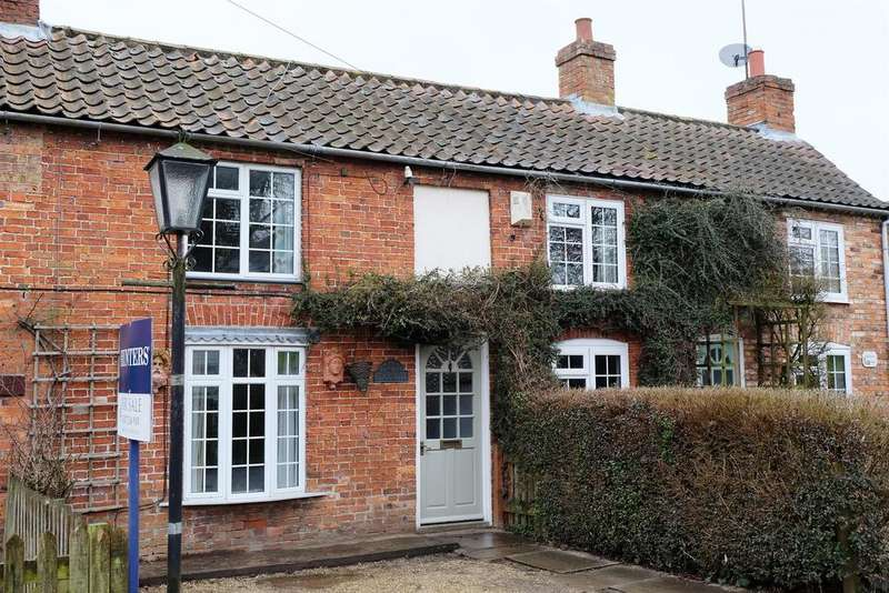 2 Bedrooms Terraced House for sale in Chapel Lane, Old Bolingbroke, Spilsby, Lincs, PE23 4ES