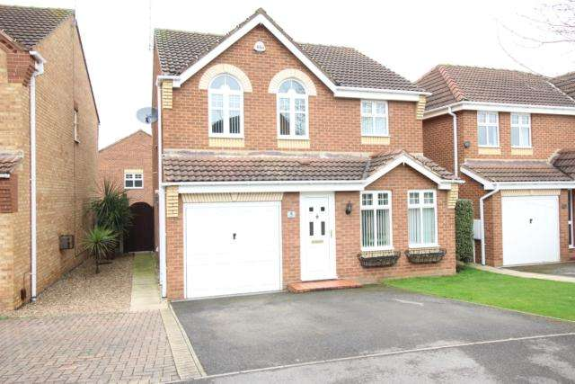 4 Bedrooms Detached House for sale in 5 Wavell Close Worksop