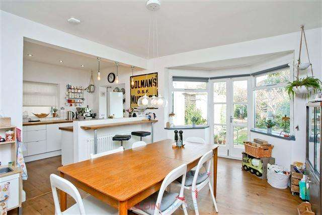 4 Bedrooms Semi Detached House for sale in Nevill Road, Hove