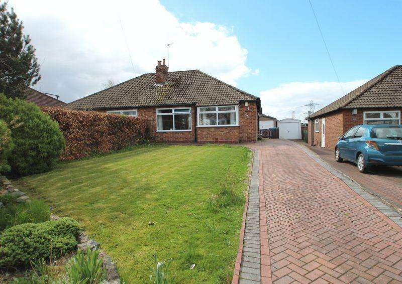 2 Bedrooms Semi Detached Bungalow for sale in The Ridgway, Romiley