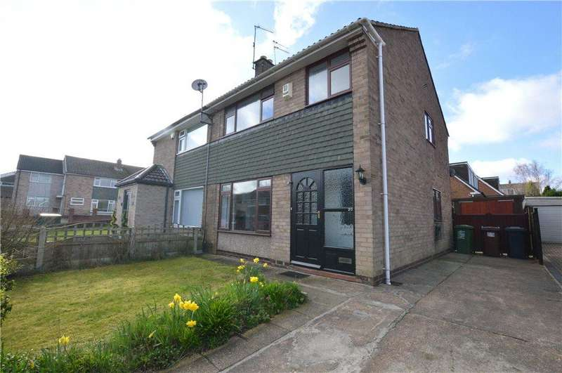 3 Bedrooms Semi Detached House for sale in Primley Park Drive, Leeds, West Yorkshire