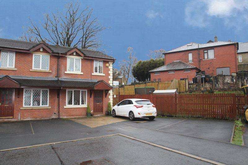 3 Bedrooms Terraced House for sale in Margroy Close, Syke, Rochdale OL12 0ES