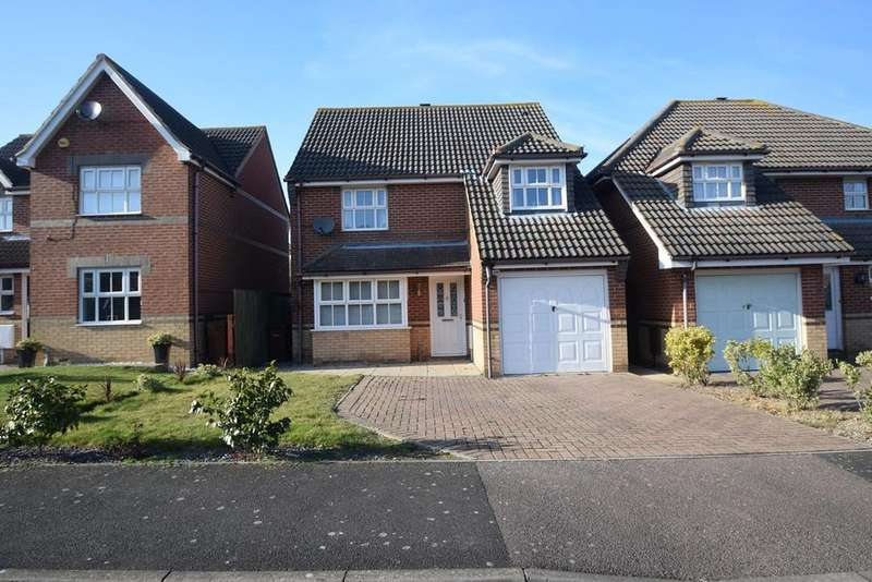 4 Bedrooms Detached House for sale in Drayton Close, High Halstow, Rochester, ME3