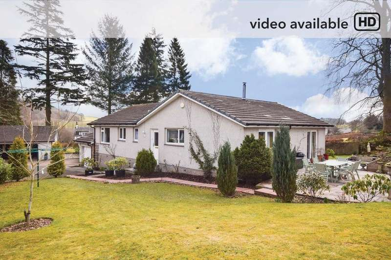 3 Bedrooms Detached Bungalow for sale in Duncrievie Road, Glenfarg, Perthshire, PH2 9PA