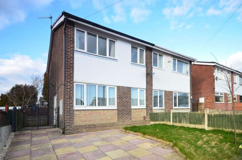 3 Bedrooms Semi Detached House for sale in Soames Crescent, Adderley Green, ST3 5JX