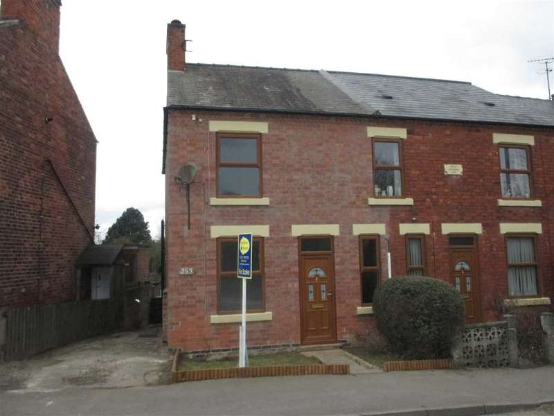 2 Bedrooms Semi Detached House for sale in Alfreton Road, Underwood, Nottingham