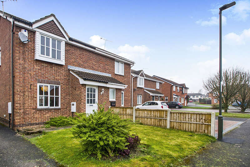 2 Bedrooms Semi Detached House for sale in Barclay Court, Ilkeston, DE7