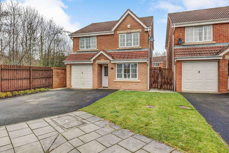 4 Bedrooms Detached House for sale in Cherrywood, NEWCASTLE UPON TYNE, NE6