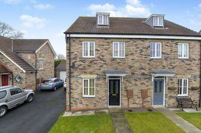 3 Bedrooms Semi Detached House for sale in Trinity Gardens, Northallerton