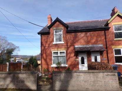 2 Bedrooms Semi Detached House for sale in Trefnant, Denbigh, Denbighshire, LL16