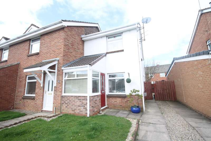 2 Bedrooms End Of Terrace House for sale in Windsor Court, Shildon