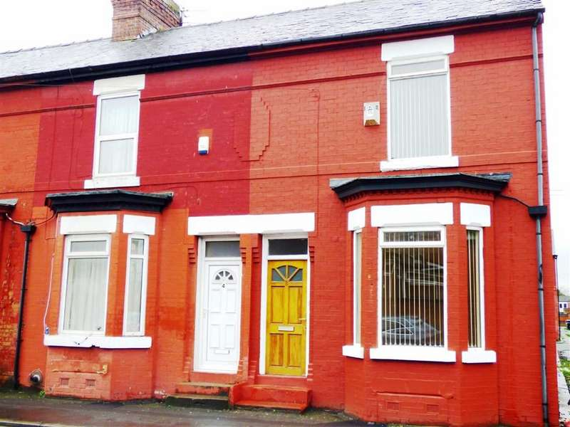 2 Bedrooms End Of Terrace House for sale in Ravensdale Street, Rusholme, Manchester, M14