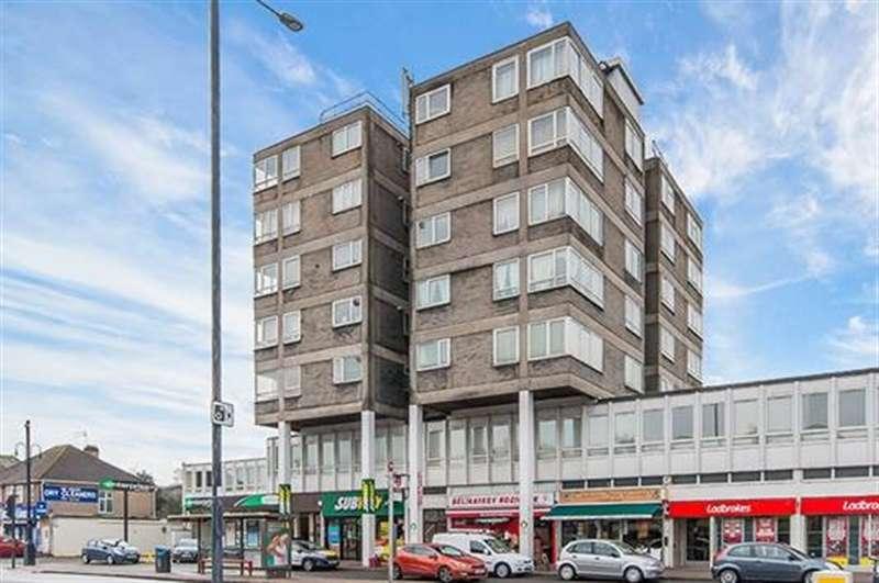 2 Bedrooms Flat for sale in Rex House, Hampton Road West, Hanworth, TW13 6AP
