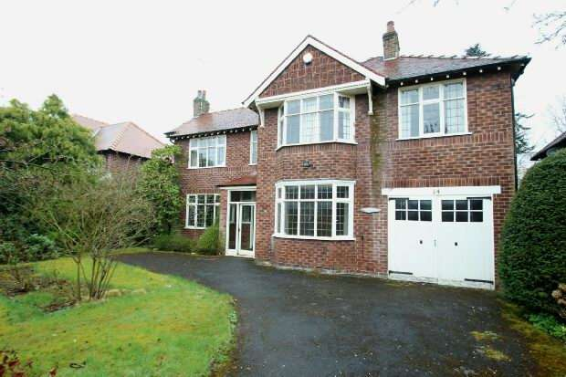 4 Bedrooms Detached House for sale in Whalley Road, Hale