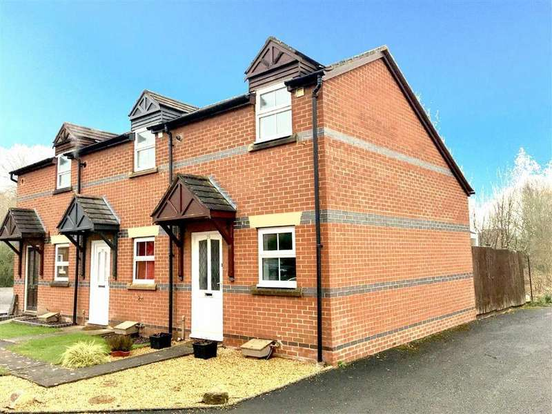 1 Bedroom End Of Terrace House for sale in Glendower Court, Falstaff Street, Shrewsbury