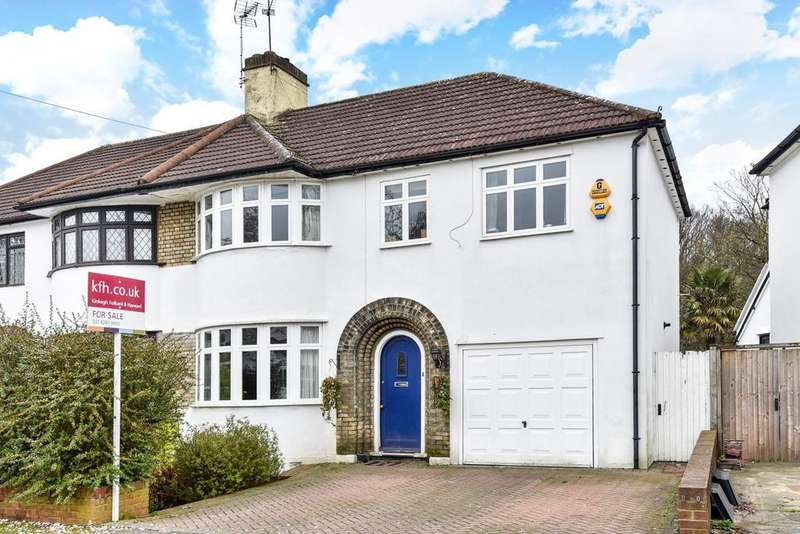 4 Bedrooms Semi Detached House for sale in Woodside Avenue, Chislehurst