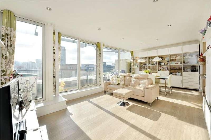 3 Bedrooms Flat for sale in Boardwalk Place, London