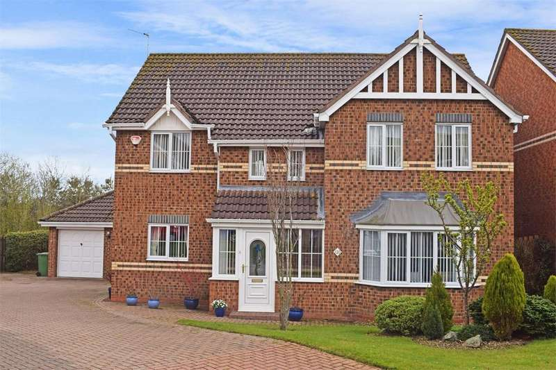 4 Bedrooms Detached House for sale in 120 Allerburn Lea, ALNWICK, Northumberland