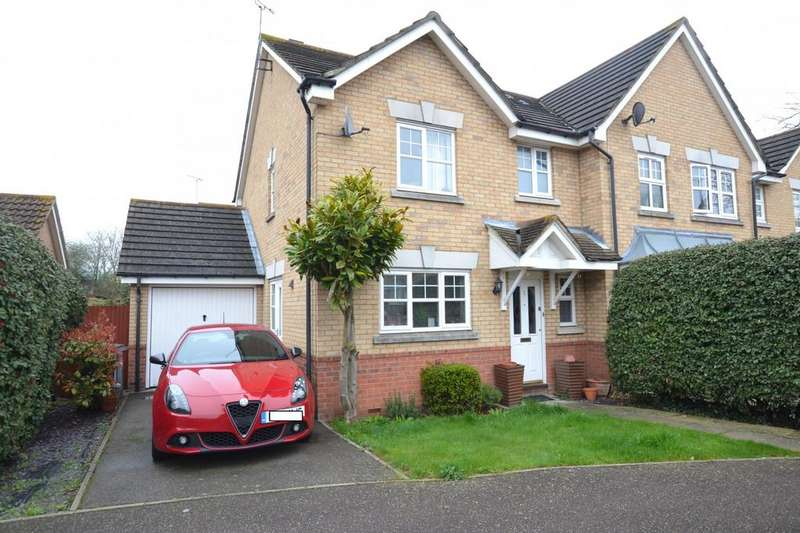 3 Bedrooms Semi Detached House for sale in Brunswick Place, Rayleigh, Essex, SS6