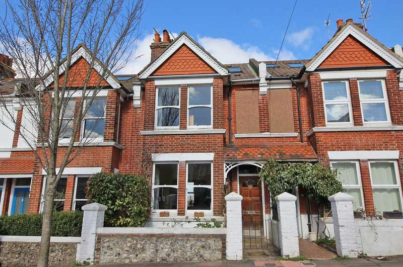 4 Bedrooms Terraced House for sale in Lowther Road, Brighton BN1