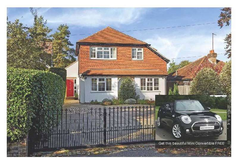 4 Bedrooms Detached House for sale in Witches Lane, Sevenoaks, Kent