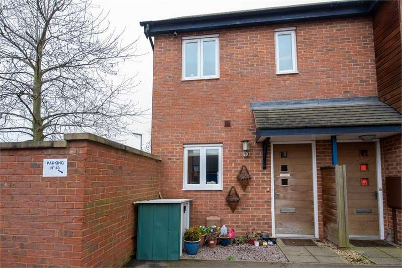 2 Bedrooms End Of Terrace House for sale in The Featherworks, Boston, Lincolnshire