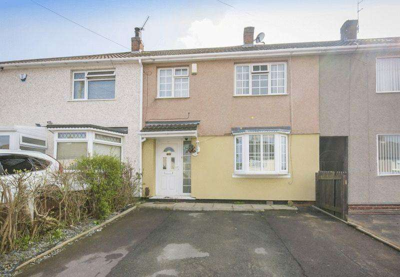 2 Bedrooms Terraced House for sale in GRANTHAM AVENUE, BREADSALL HILLTOP