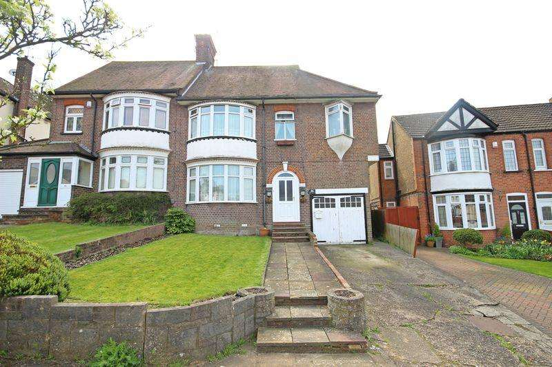 4 Bedrooms Semi Detached House for sale in Wardown Crescent, Luton