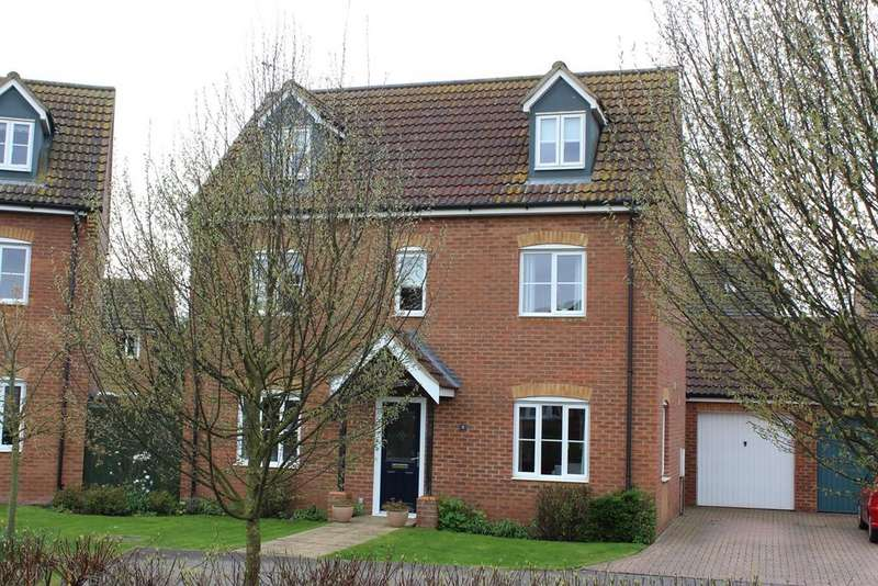 4 Bedrooms Detached House for sale in Fallowfields, Deeping St Nicholas, PE11